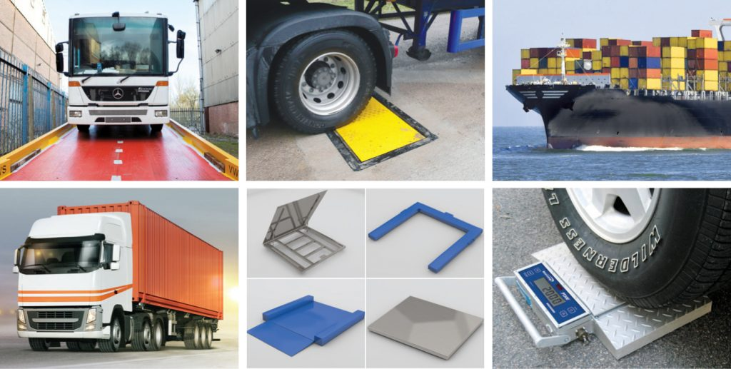 Weighing equipment for SOLAS regulations
